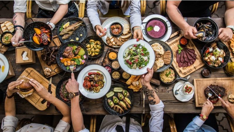 İstanbul'da en çok yemek Şişli'de yenildi