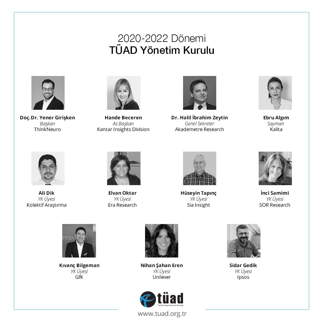 Türkiye Araştırmacılar Derneği'nin yeni Başkanı Yener Girişken oldu