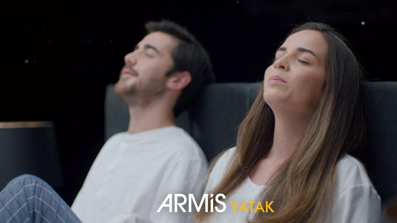 Armis'ten uykuya davet eden reklam serisi