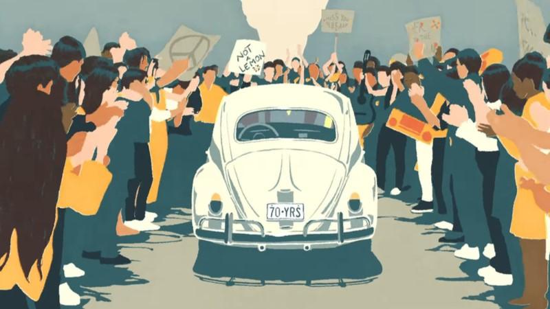 Volkswagen Beetle'ın son yolculuğu