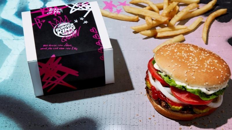Burger King'den Harley Quin tarzında anti-Sevgililer Günü kampanyası