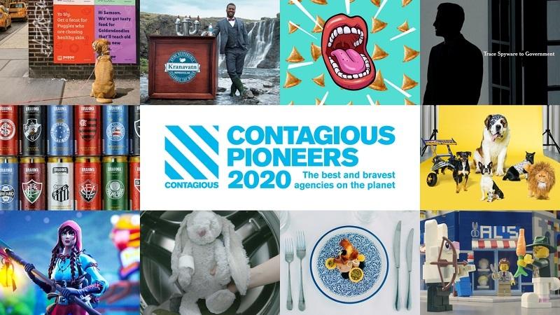 """Contagious """"Dünya'nın En İyi ve En Cesur Ajansları""""nı..."""
