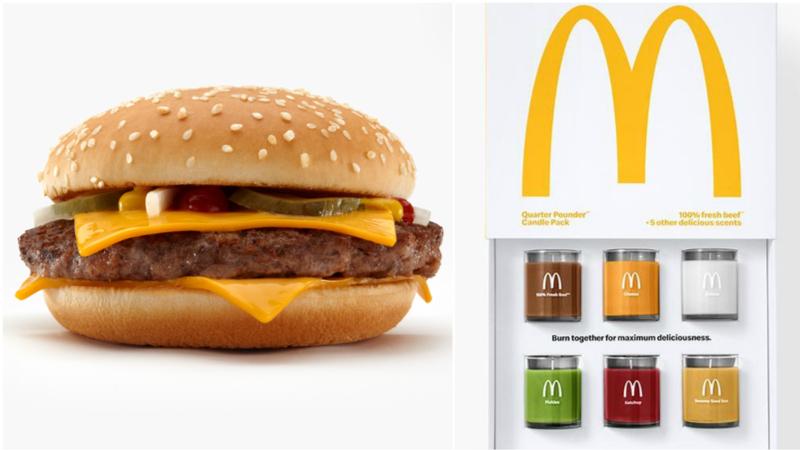 McDonald's kokulu mumlara ne dersiniz?