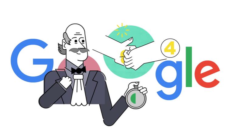 Google, doodle ile uyardı: Eller nasıl doğru yıkanır?