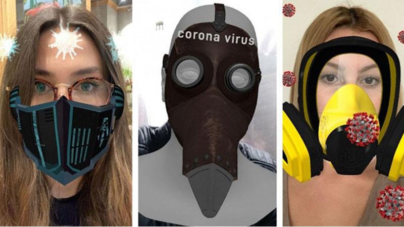 Instagram, koronavirüs filtrelerini yasakladığını duyurdu