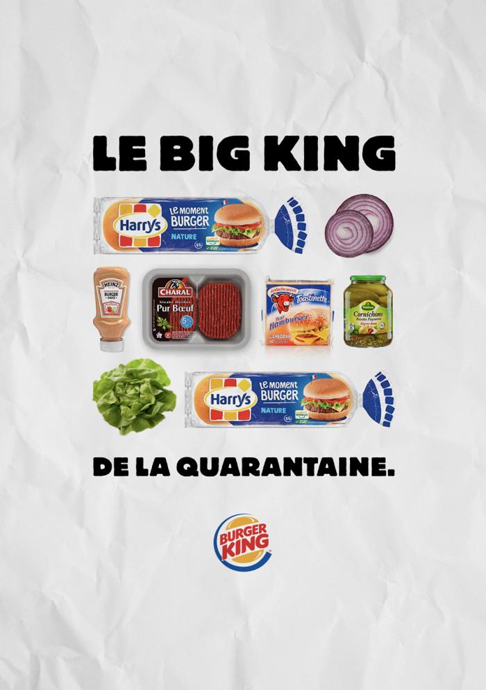 Burger King Fransa, evde Whopper yapmanın tarifini veriyor