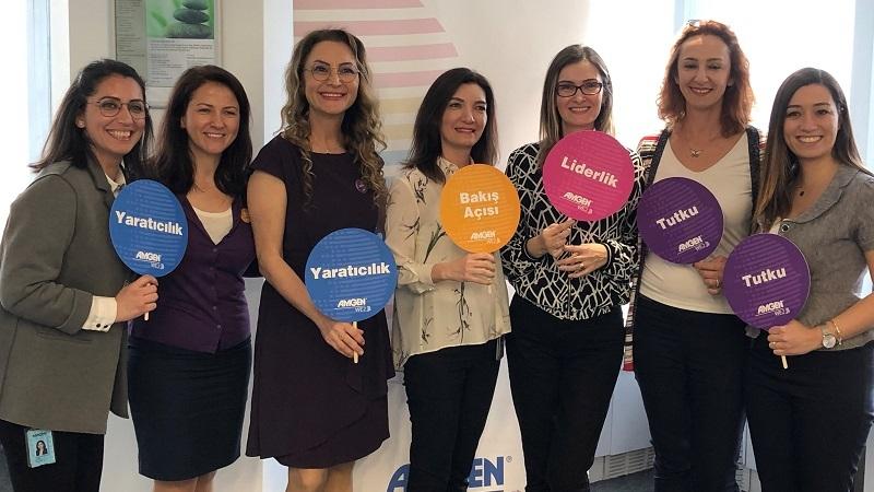 Amgen Türkiye'de kadınları liderliğe teşvik ediyor