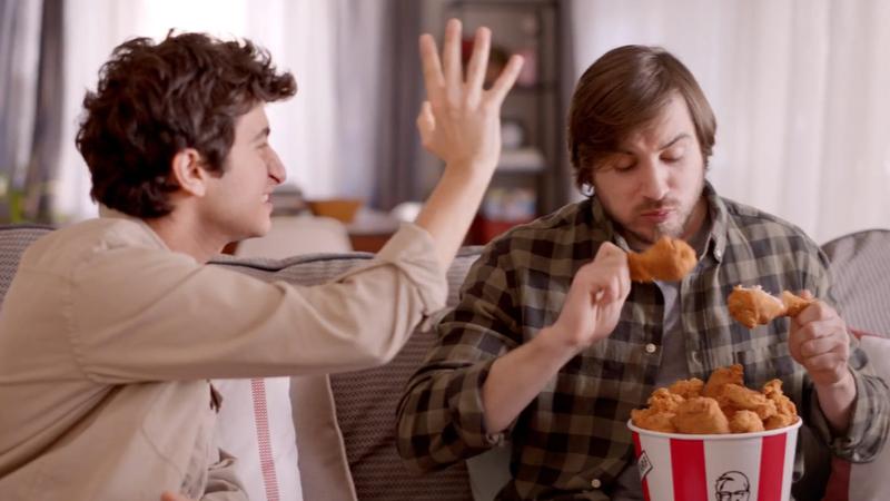 KFC'nin yeni reklam kampanyası yayınlandı