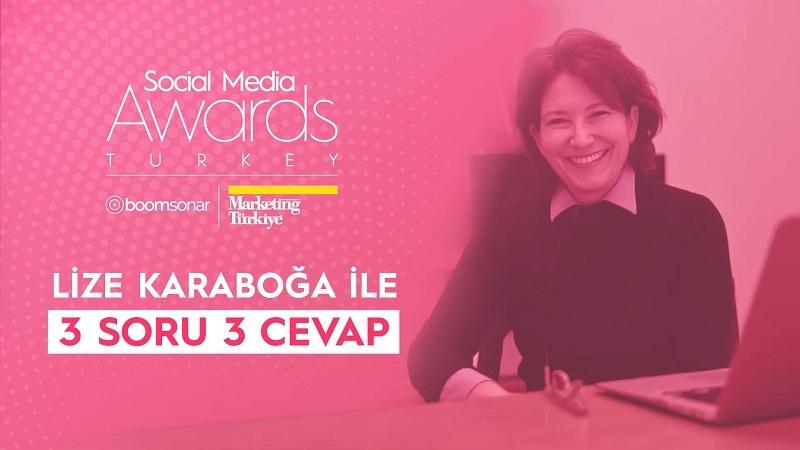 Lize Karaboğa'dan Social Media Awards Turkey tüyoları