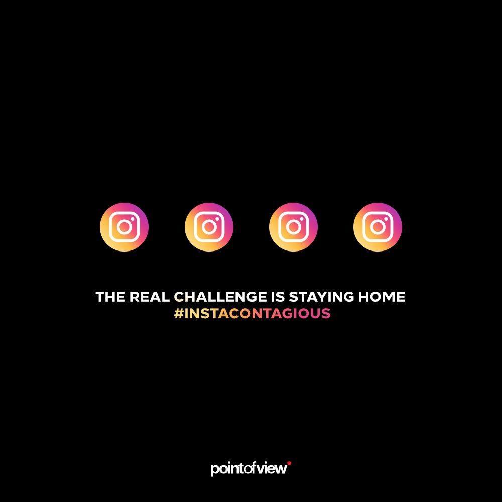 Point Of View reklam ajansı asıl challenge evde kalmak diyor