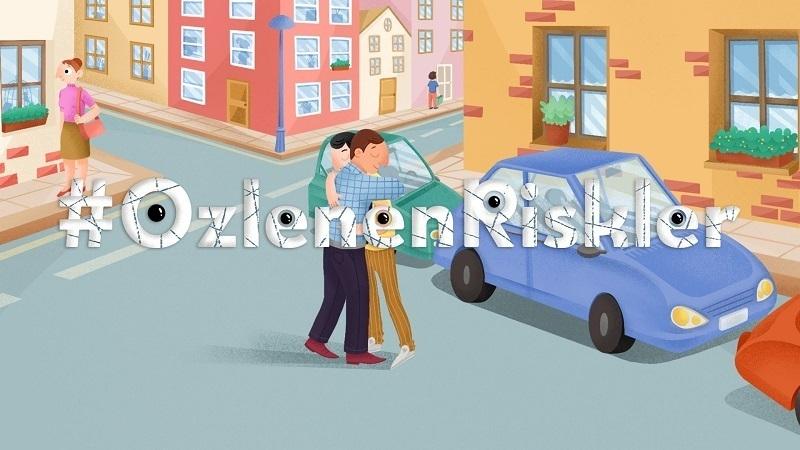 Groupama'dan dikkat çekici bir iletişim kampanyası: #ÖzlenenRiskler