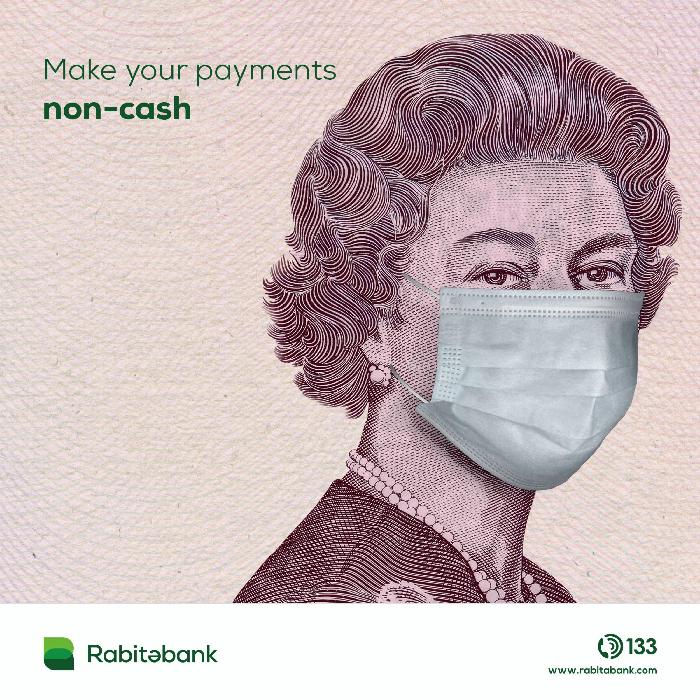 Rabitabank, ödemelerinizde nakit kullanmayın diyor