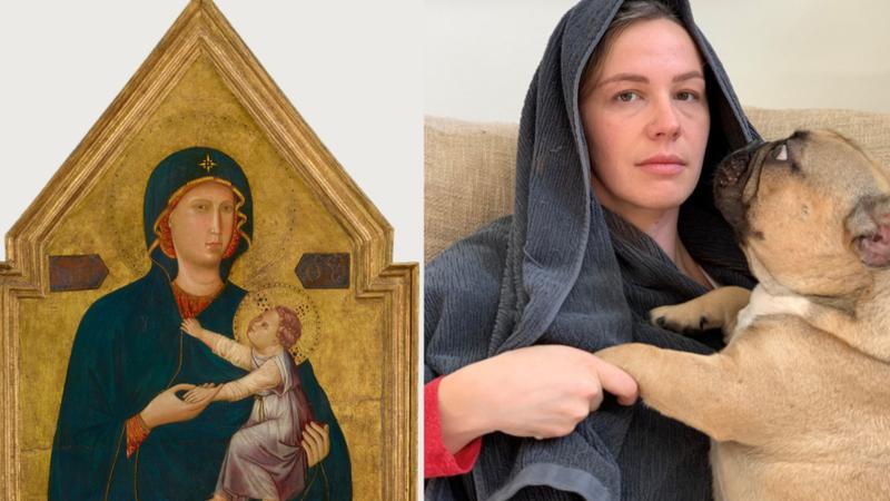 Getty Müzesi'nden challenge: Karantina sürecinde ünlü sanat eserlerini yeniden canlandırma