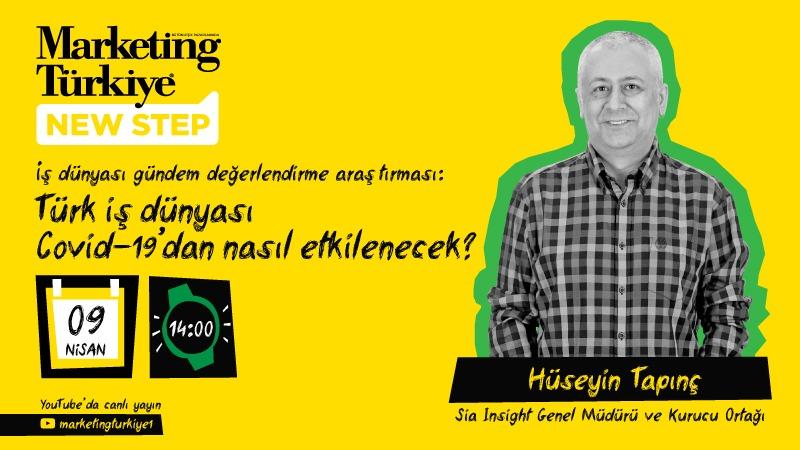 Marketing Türkiye New Step - Hüseyin Tapınç (Canlı...