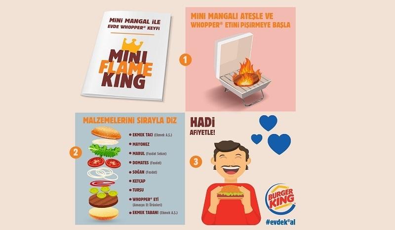 Burger King'ten kendisi evde, aklı Whopper'da kalanlara: Tarif kitapçığı