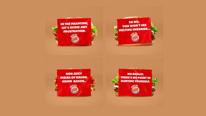 Burger King Belçika müşterilerini çileden çıkarmamak için kendini sansürledi
