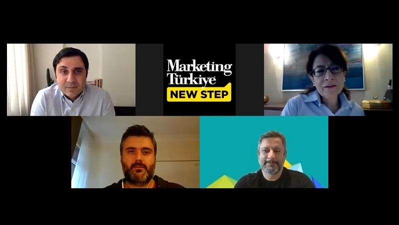 Marketing Türkiye New Step'in yeni konukları Hakan Göl ve Fatih Taşkın oldu