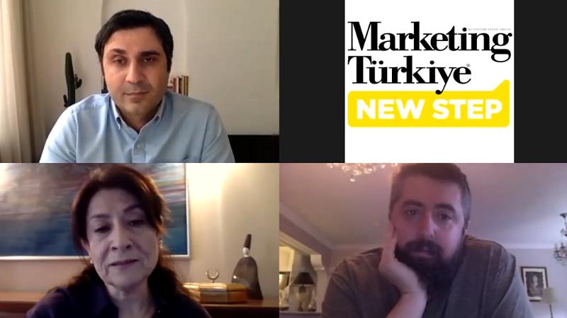 Marketing Türkiye New Step'in ilk konuğu Akan Abdula...