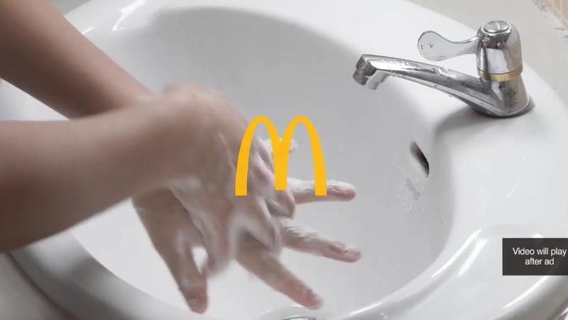 McDonald's'ın 20 saniyelik atlanamayan reklamı