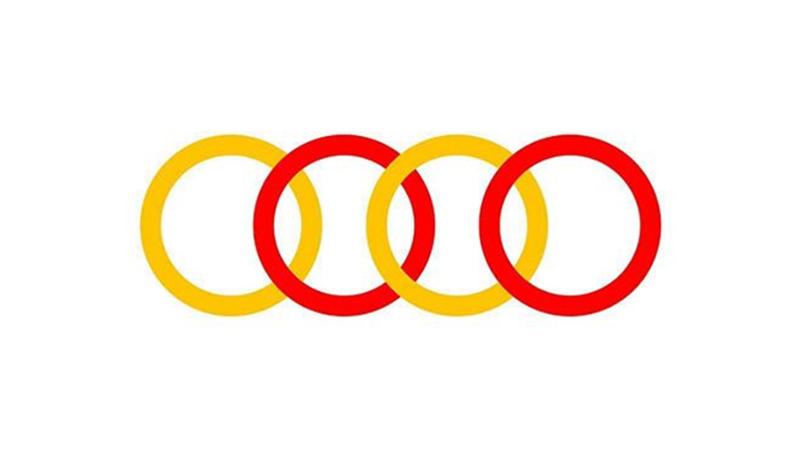 Audi Rusya'nın logosu neden kırmızı ve sarıya döndü?