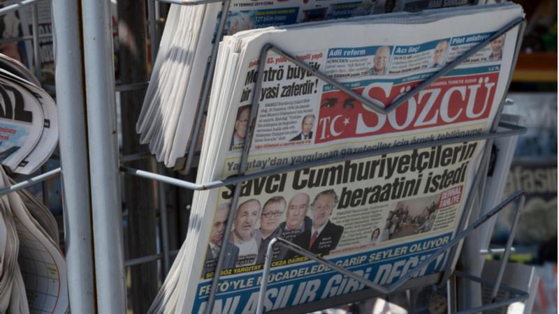 """""""Sokağa çıkma kısıtlaması süresince medya faaliyetleri ve gazete dağıtımı kesintiye uğramayacak"""""""