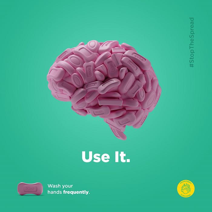 Salgınla mücadelede ihtiyacımız olan iki şey: Sabun ve beyin
