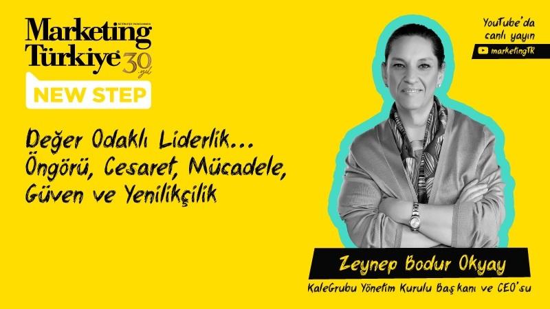 """Zeynep Bodur Okyay ile """"Değer Odaklı Liderlik""""..."""