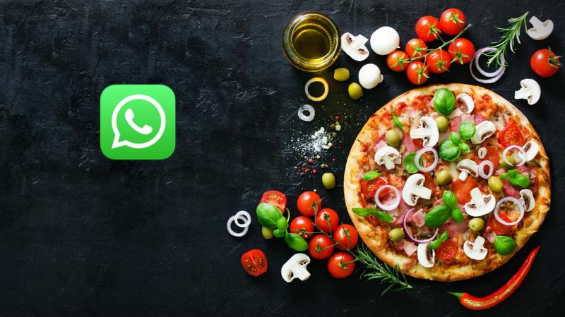 Artık WhatsApp'tan pizza sipariş edilebilecek!