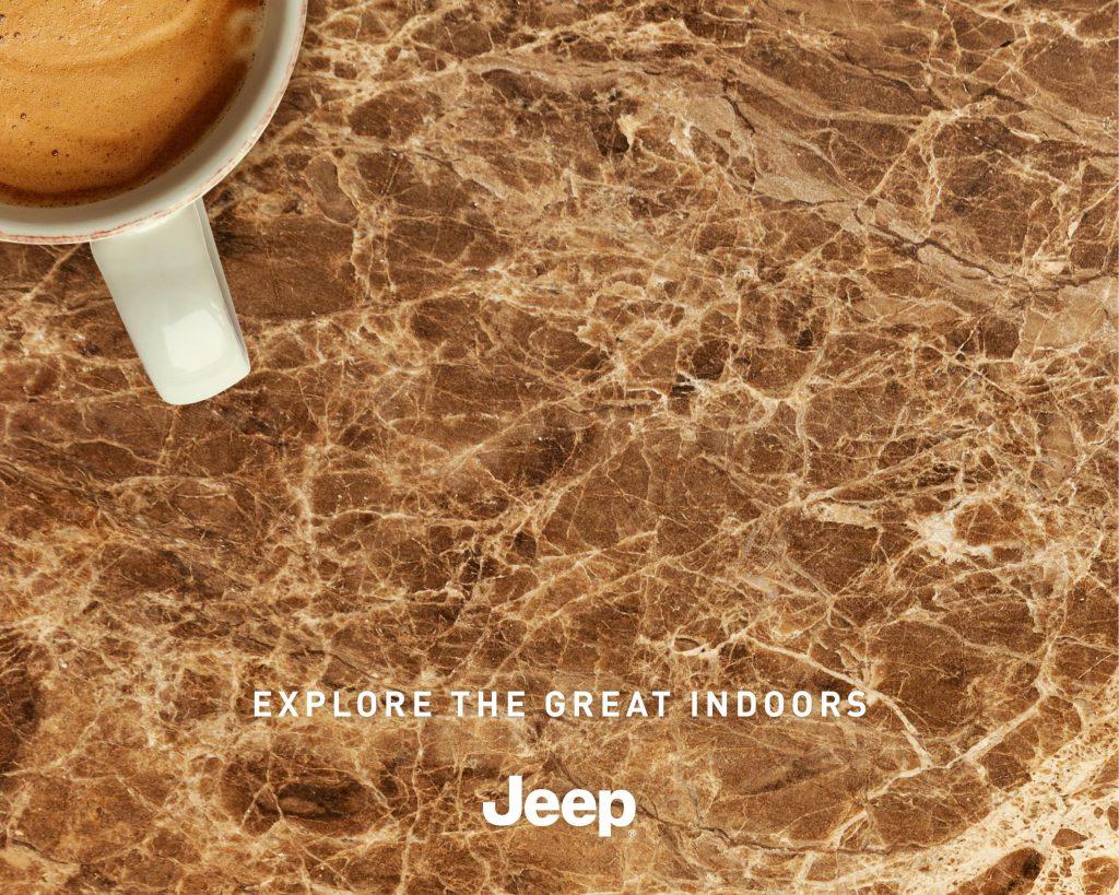 Jeep #evdekal mesajına kendi yorumunu getirdi