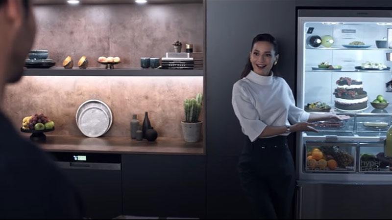 Siemens buzdolabı kamerasında görünenler bu kez biraz farklı
