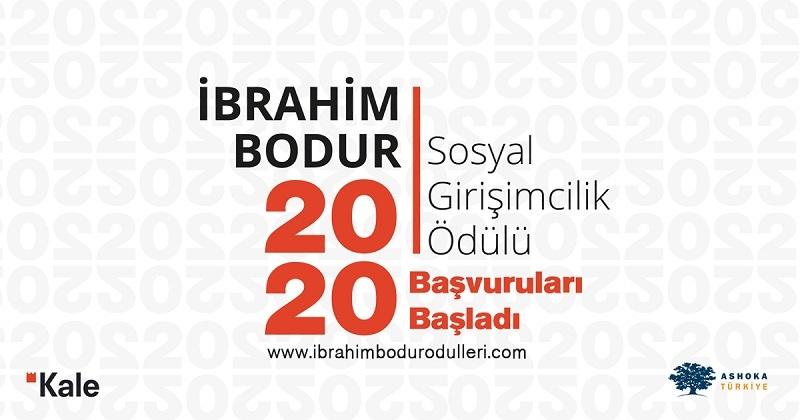 İbrahim Bodur Sosyal Girişimcilik Ödülü başvuruları, 21 Haziran'da sona erecek