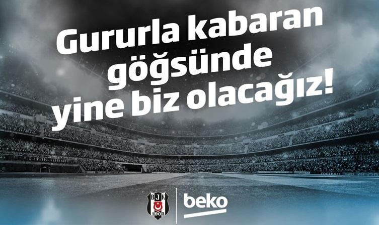Beşiktaş Futbol Takımı'nın göğsünde Beko logosu olacak