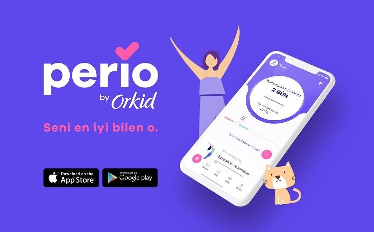 Orkid'in yeni uygulaması Perio'nun reklam kampanyası yayında