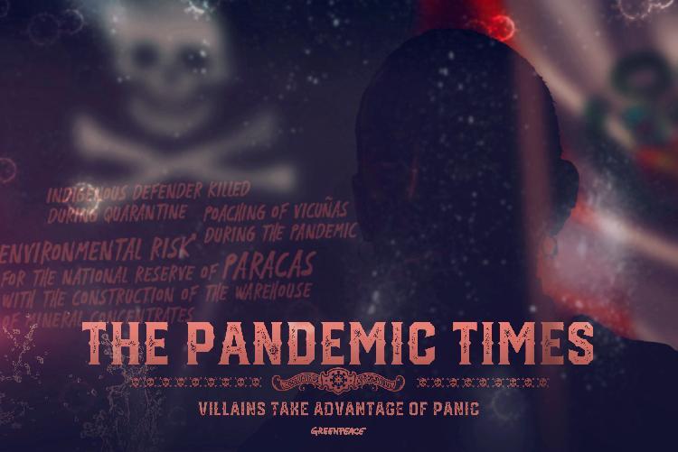 Pandemi zamanı kötüler ortaya çıkar!