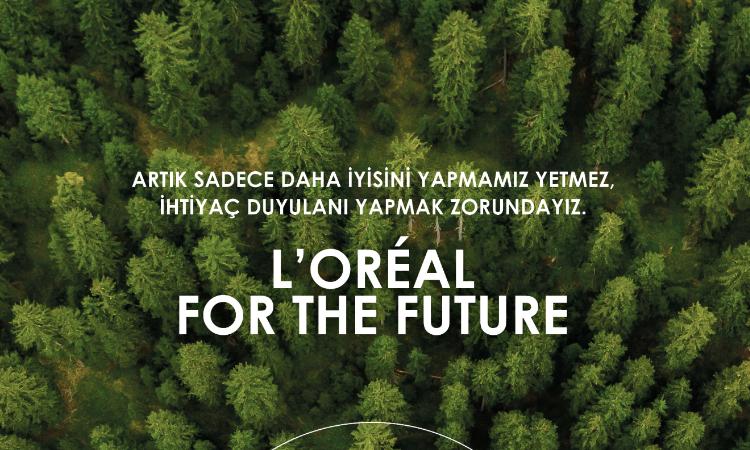 L'Oréal'den, gelecek için cesur atılım