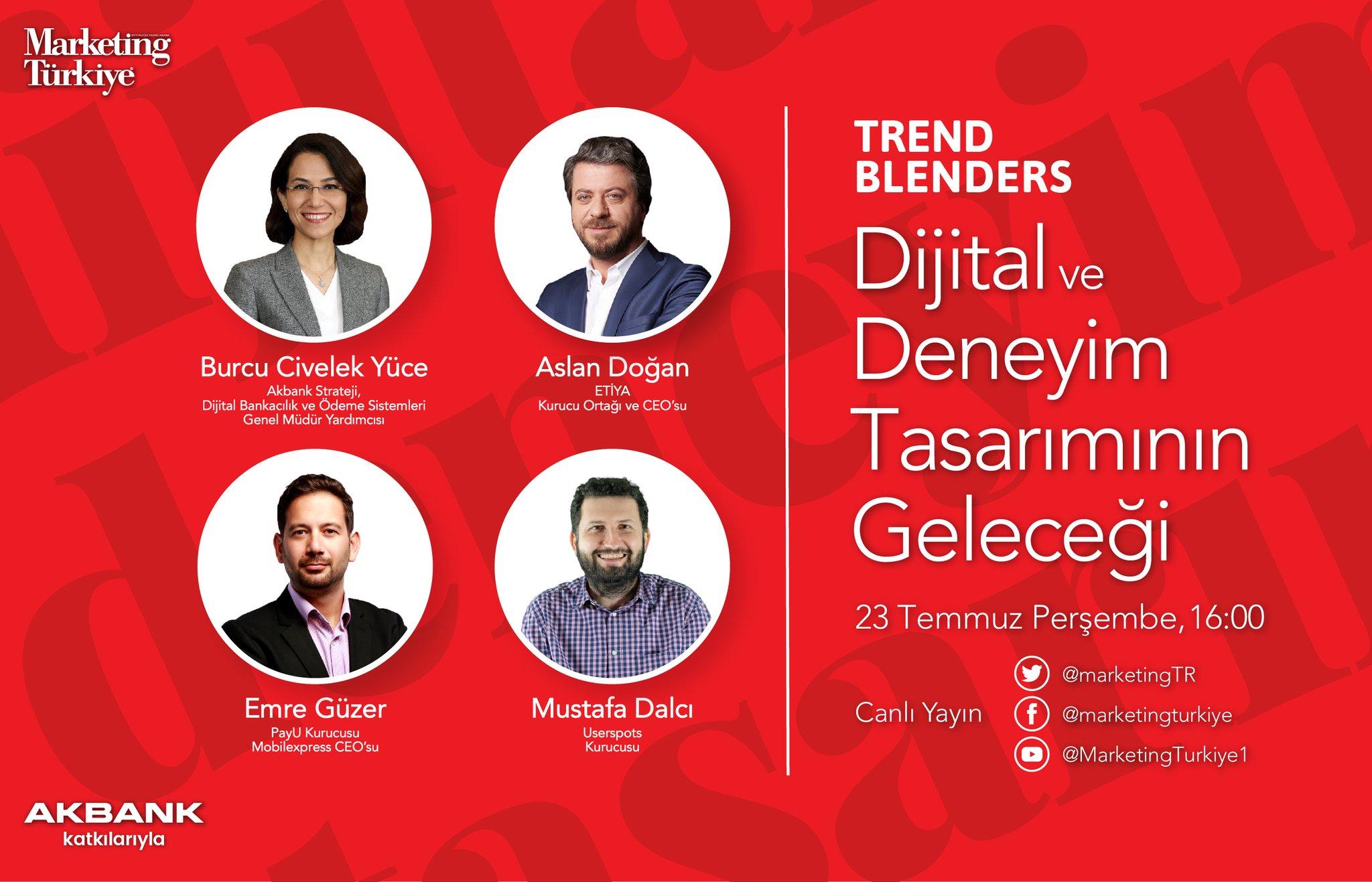 Akbank'ın katkılarıyla Trend Blenders başlıyor