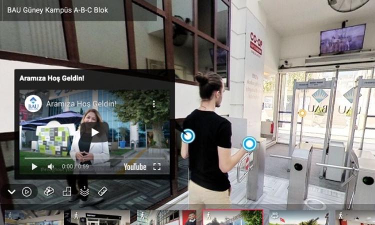 Bahçeşehir Üniversitesi'nden sanal kampüs turu