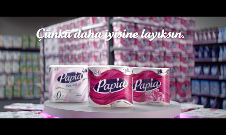 """Papia yeni reklam filmi """"Her anını güzelleştir"""" ile ekranlarda"""