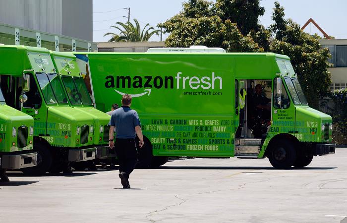 Amazon gözünü süpermarket pazarına dikti