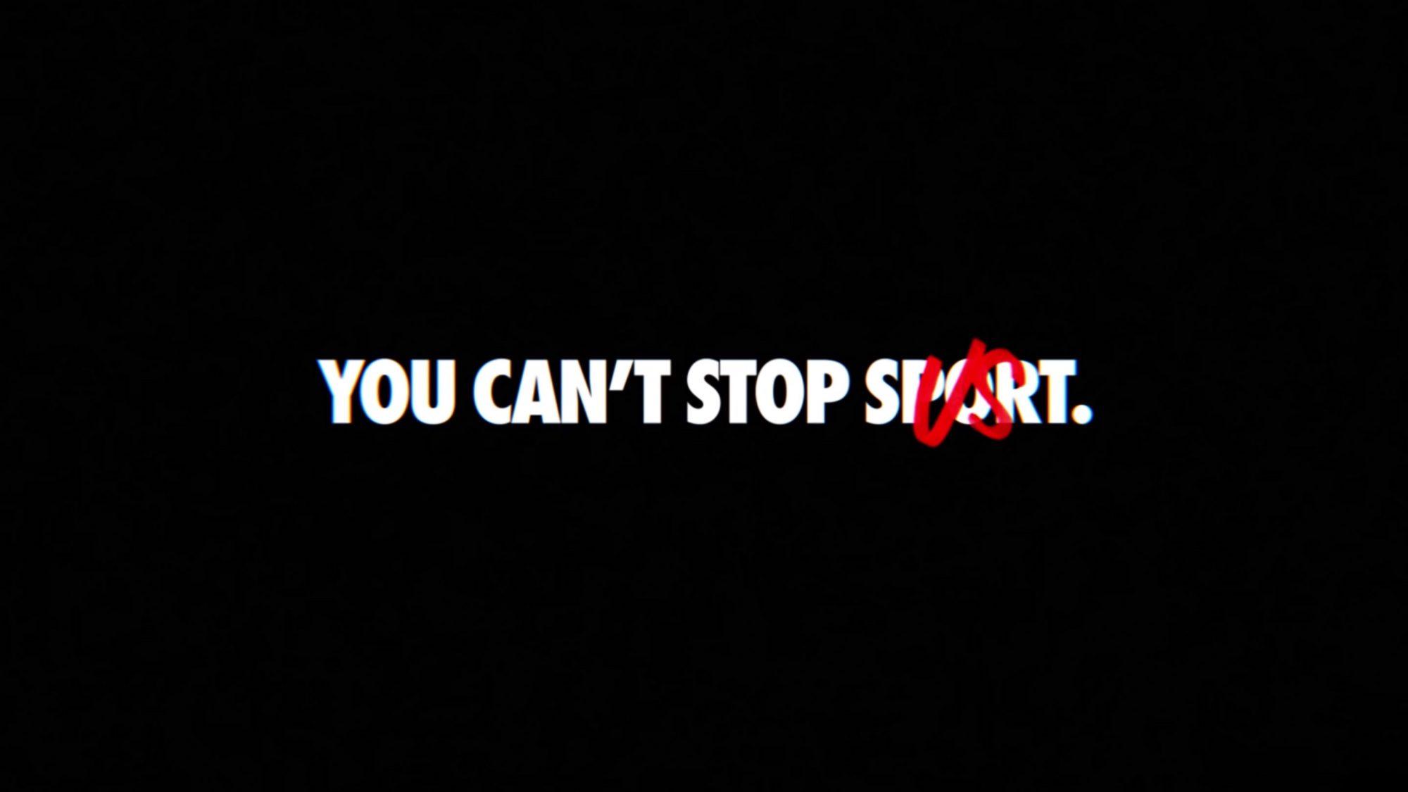 Nike: Bizi durduramazsınız