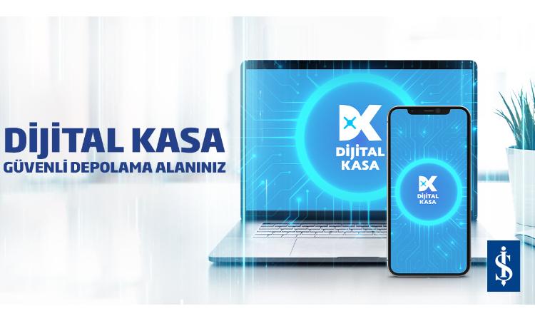 İş Bankası'ndan güvenli depolama: Dijital Kasa