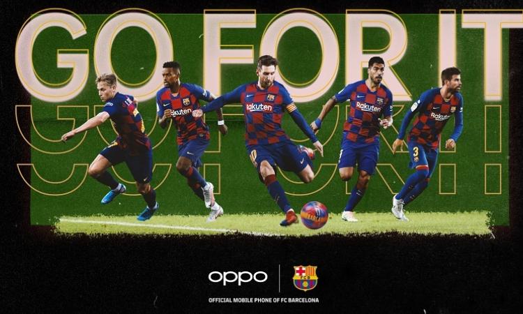 OPPO'dan Barcelona için yeni bir challenge: Go For It