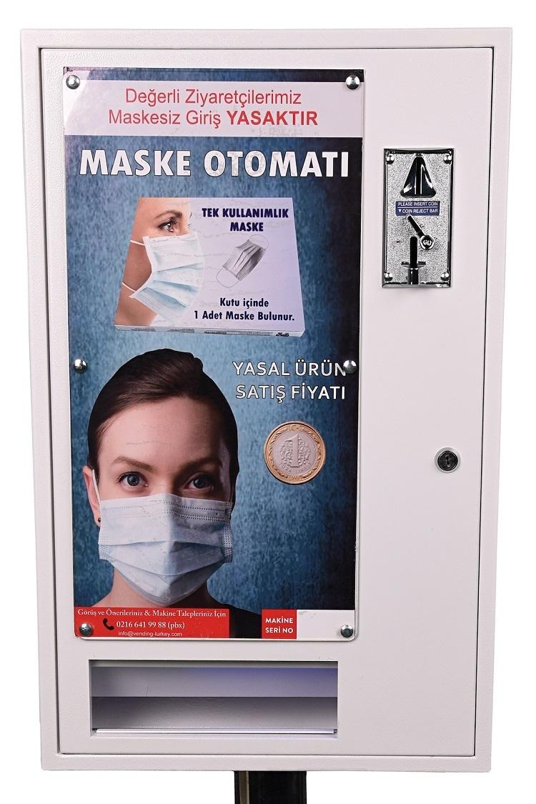 Portatif maske otomatları iş başında