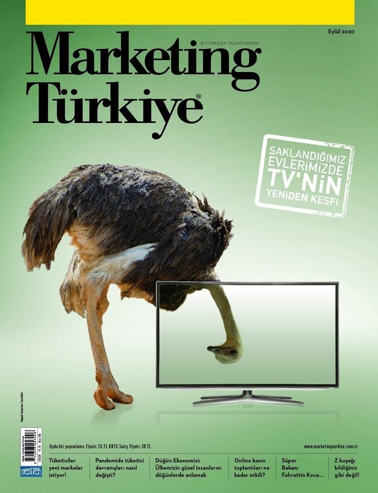 Marketing Türkiye Eylül sayısı basılı versiyonuyla sektörle buluştu!