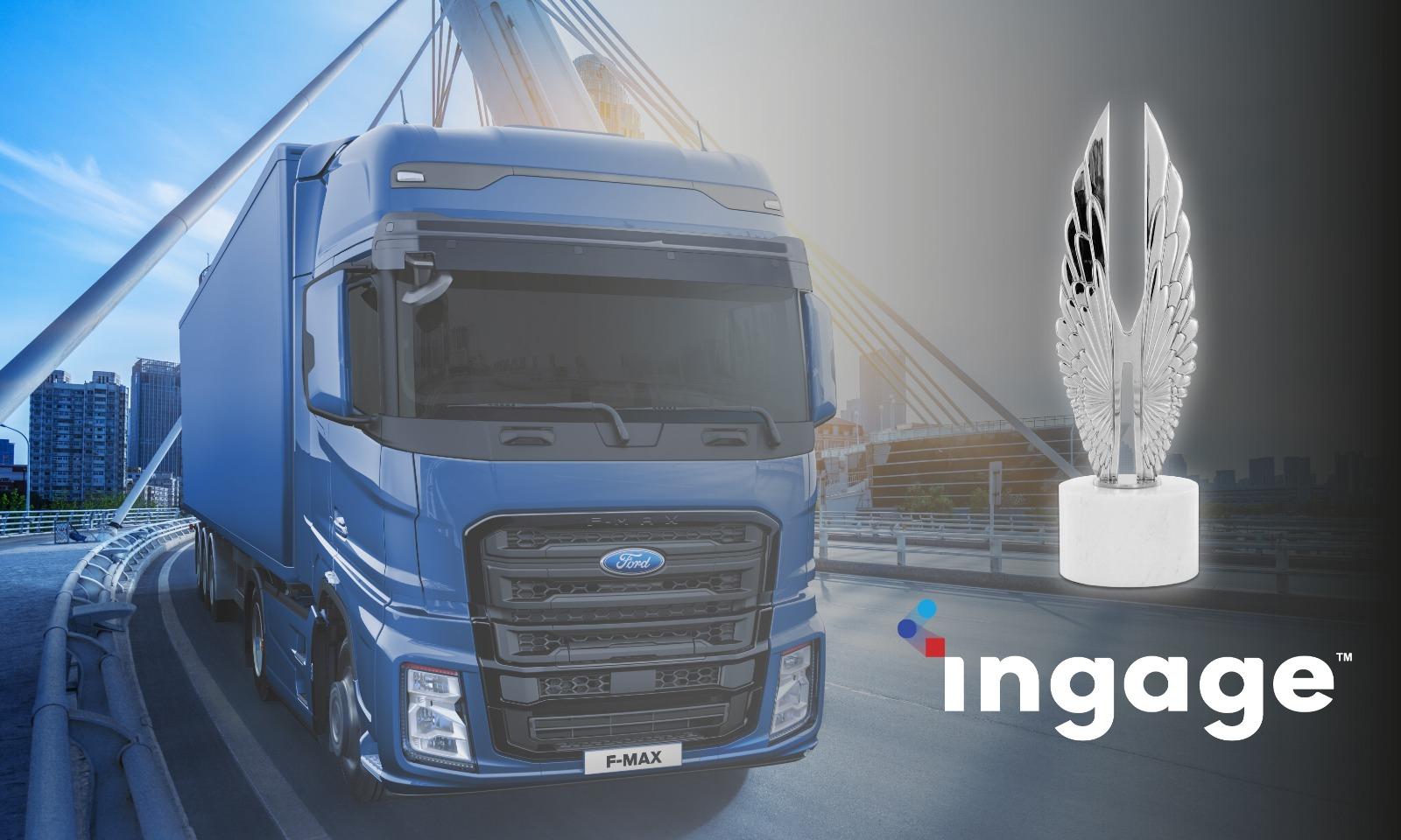 Ingage ve Ford Trucks'a uluslararası büyük ödül!