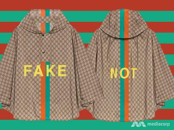 "Gucci'den orijinal ""Fake"" koleksiyon!"