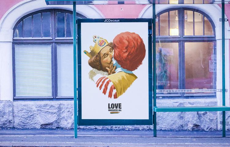 Burger King: Aşk her şeyden üstündür