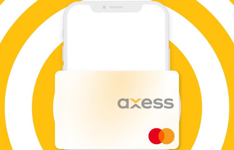 Axess'ten cebe inen kredi kartı!