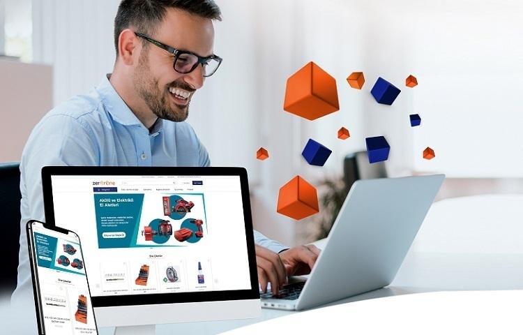 Zer'in online sipariş yönetimi platformu ZerOnline yenilendi