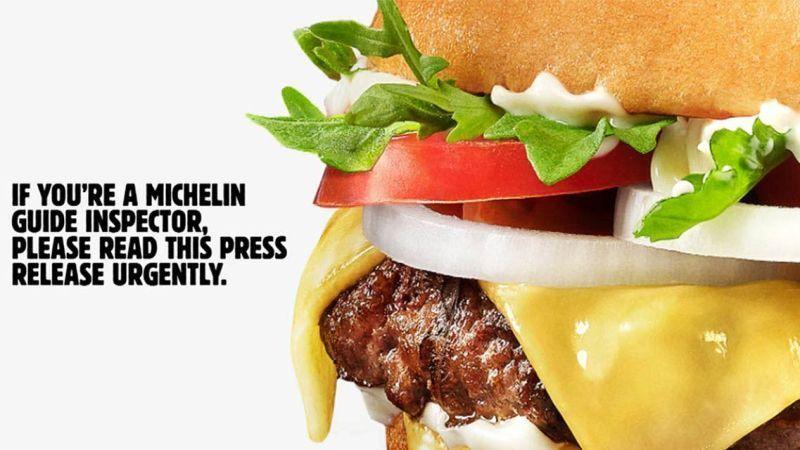 Burger King, Michelin'den yıldız istiyor!